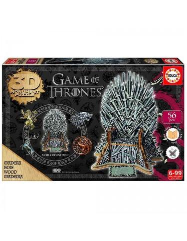 Games Thrones Puzzle 3D 8412668172074