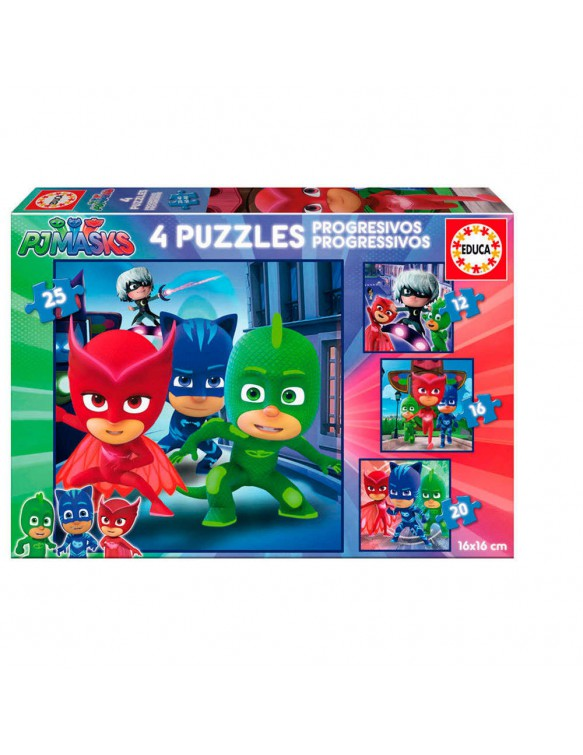 PjMask Puzzle 12/16/20/25 8412668172739