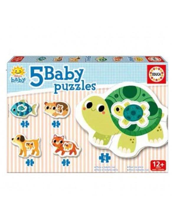 Puzzle Siluetas Animales 8412668175730