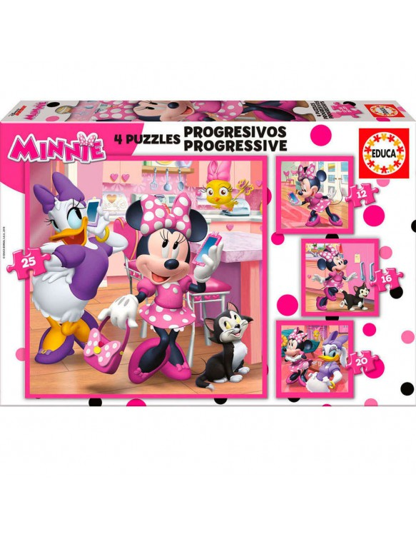 Mnnie Happy Puzzle 12/16l/20/25 8412668176300