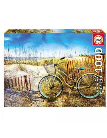 Puzzle 1000pz Bicicleta En Las Dunas