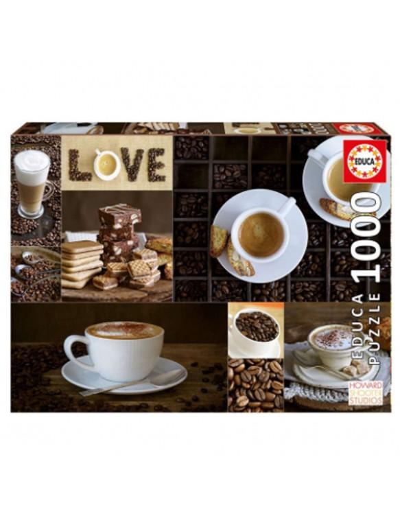 Puzzle 1000pz Café 8412668176638