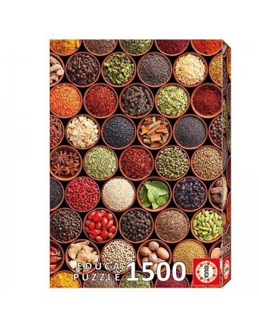 Puzzle 1500pz Especias Y Condimentos