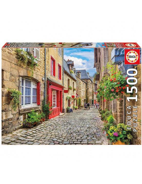 Puzzle 1500pz Paseo Entre Flores 8412668176713