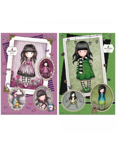 Puzzle 2X500pz Sugar And Spice+ The Scarf, Gorjuss 8412668176874