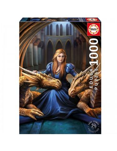 Puzzle 1000pz Lealtad Feroz, Anne Stokes 8412668176928
