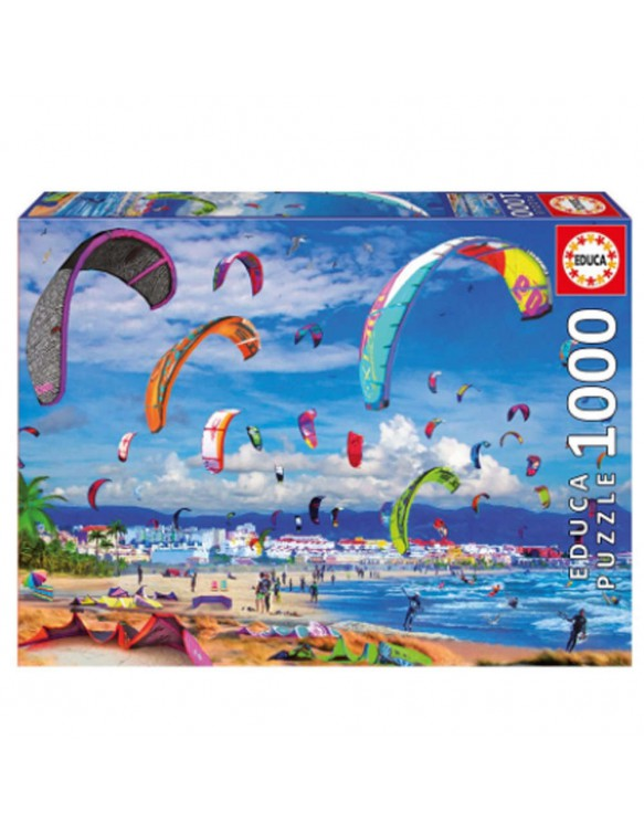 Puzzle 1000pz Kitesurfing 8412668176935