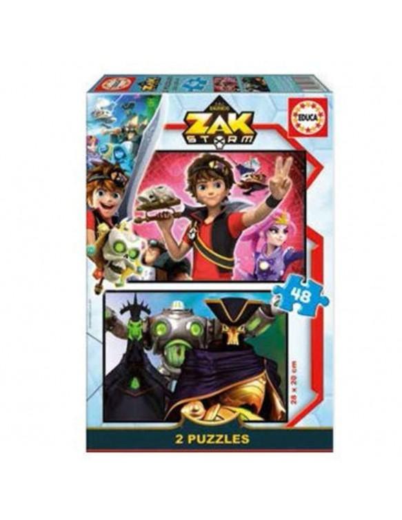 Zak Storm Puzzle 2X48pz 8412668177338