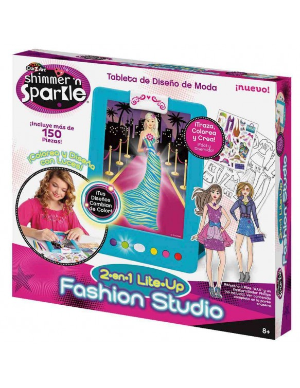 Shimmer N Sparkle Tablet Diseño De Moda 8412842439207
