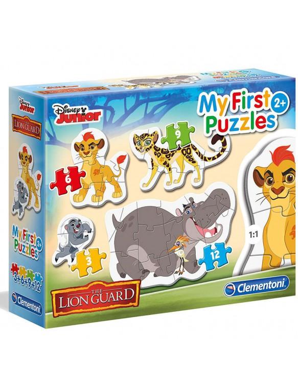 Lion Guard Puzzle 3-6-9-12 Pz 8005125208012