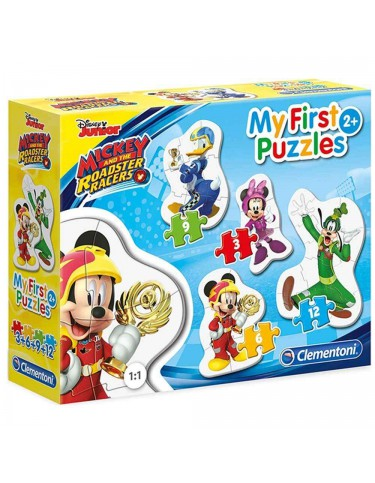 Mickey And The Roadster Racers Puzzle 3-6-9-12 Pz
