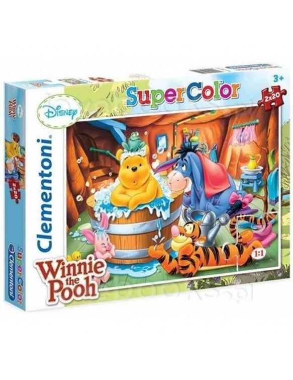 Winnie The Pooh Puzzle 2x20pz 8005125247424