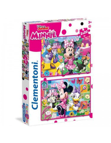 Minnie Happy Helper Puzzle 2X20 Pz