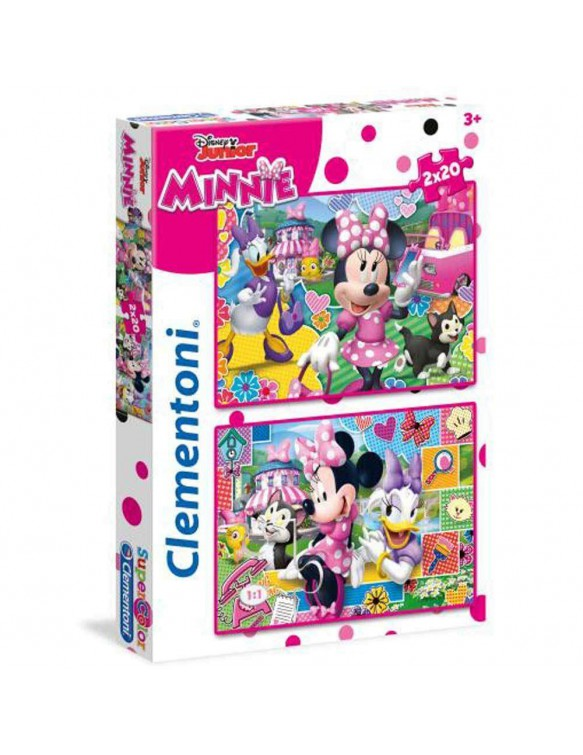 Minnie Happy Helper Puzzle 2X20 Pz 8005125247509