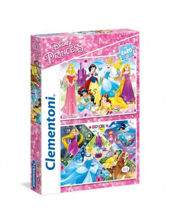 Princess Puzzle 2X20 Pz 8005125247516