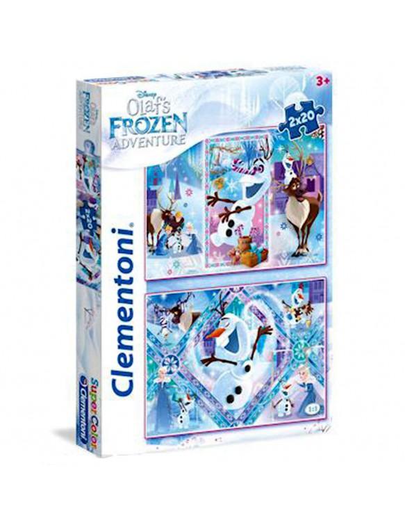 Olaf Frozen Adventure Puzzle 2x20pz 8005125247523