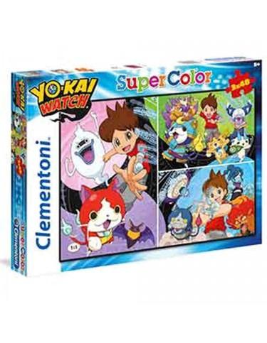 Yo-kai Puzzle 3x48