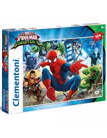 Spiderman Sinister Six Puzzle 104pz 8005125279883