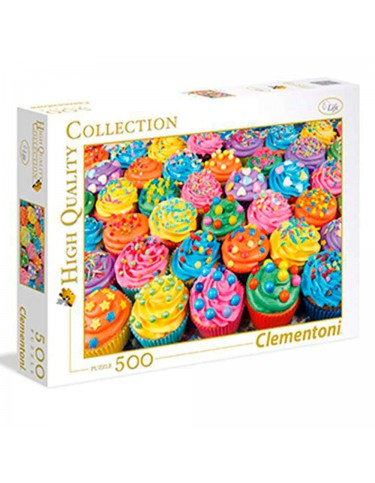 Puzzle 500 Colorful Cupcakes
