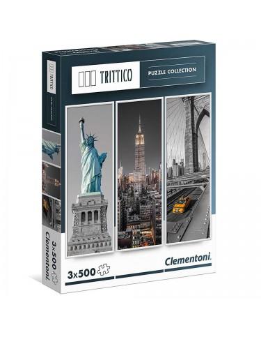 Puzzle New York 3x500pz 8005125393053
