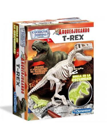 Arqueojugando T-Rex Fluorescente