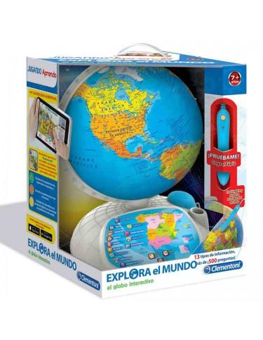 Globo Interactivo Explora el Mundo
