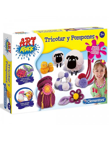 Art Attack Tricotin Pon Pon