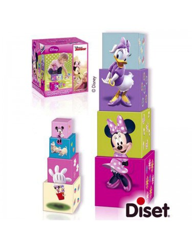 Minnie Cubos Apilables 8410446462560