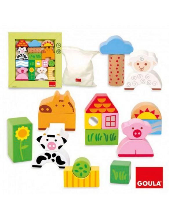 Construcción Bloques Granja Goula 8410446502099