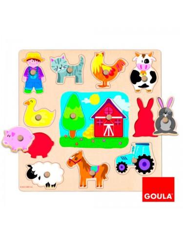 Puzzle Siluetas Granja Goula 8410446530252