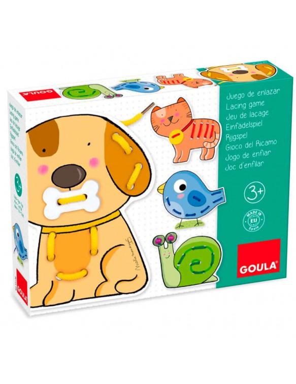 Aprende enlazar Animales 8410446531389