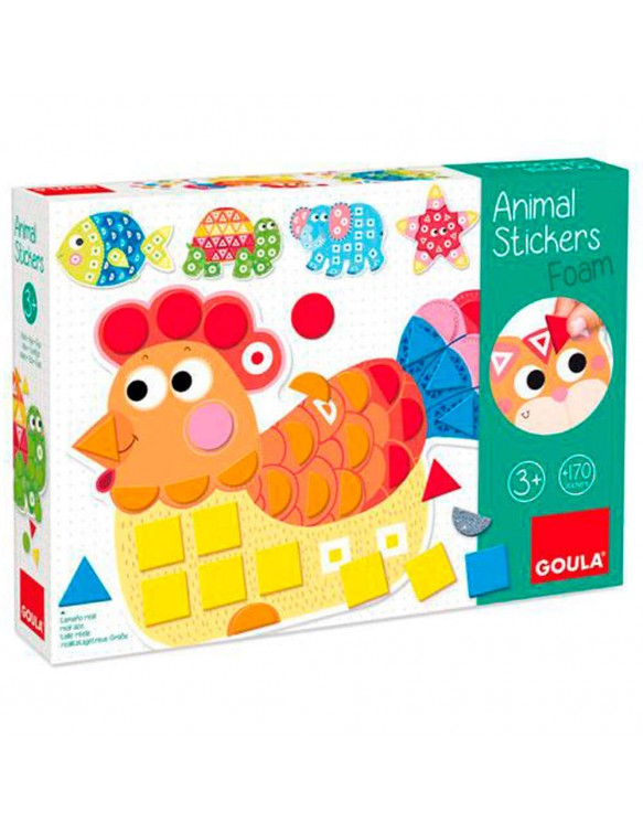 Animal Sticker Foam 8410446531495