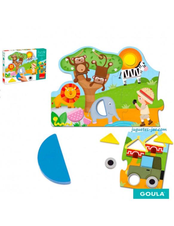 Puzzle Shapes Goula 8410446534397