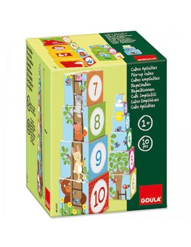 Cubos Apilables Bosque Goula 8410446552193