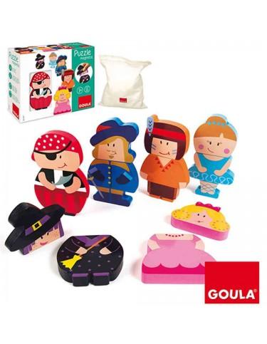 Puzzle Personajes Magnéticos Goula 8410446552377