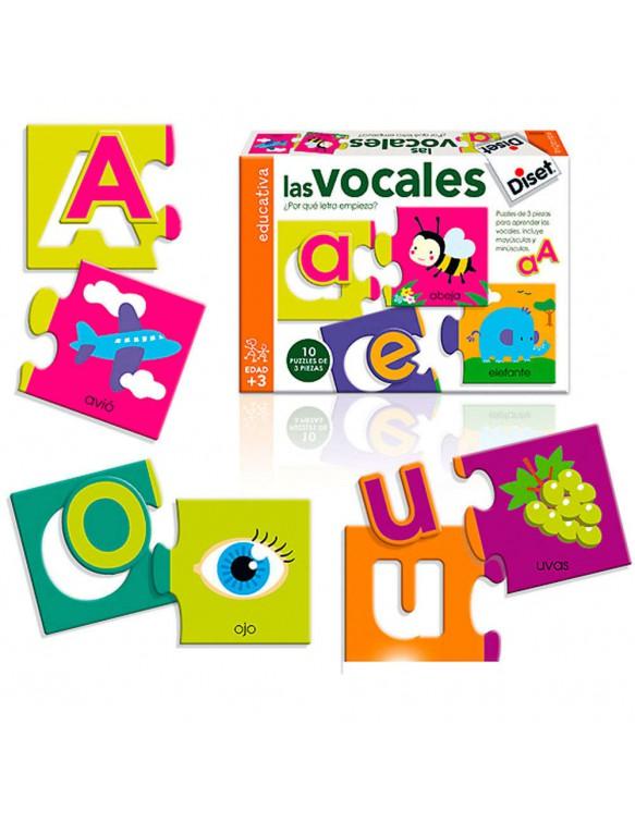 Puzzle Las Vocales 8410446633021
