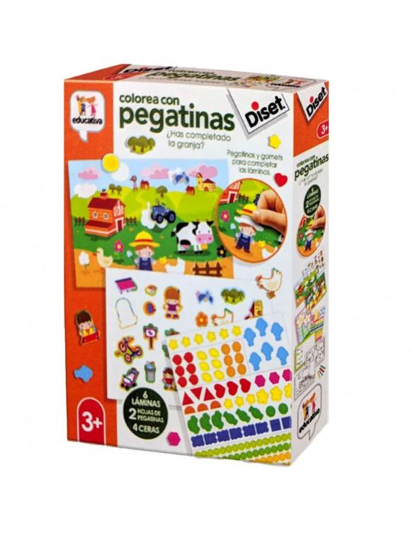 Colorea Con Pegatinas 8410446689585