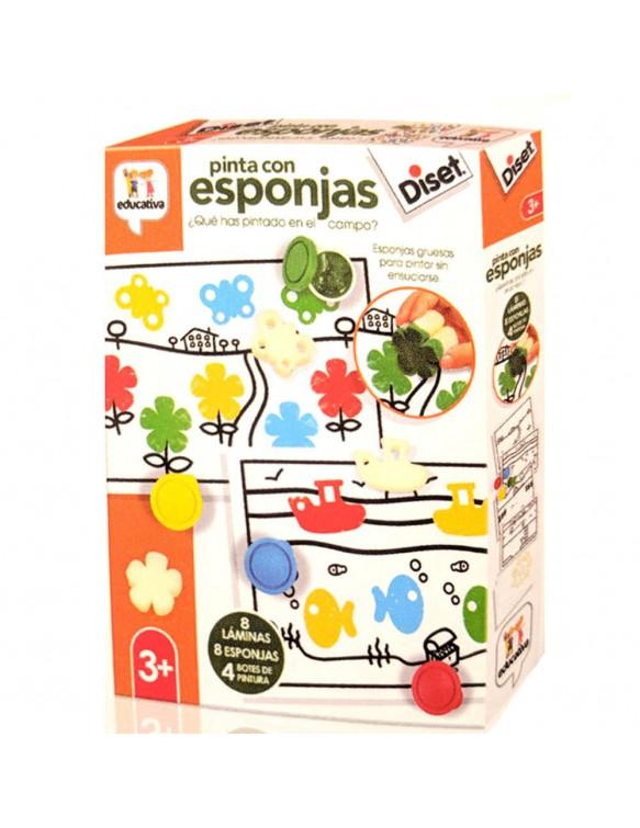 Pinta Con Esponjas 8410446689592
