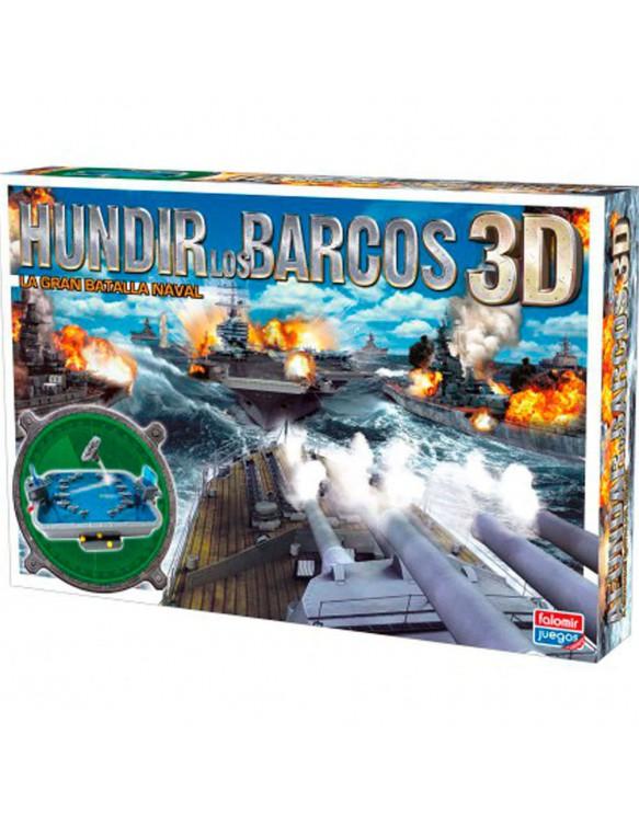Juego Hundir los Barcos 3D 8412553250108