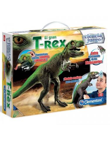 T-Rex con Luces y Sonido Clementoni