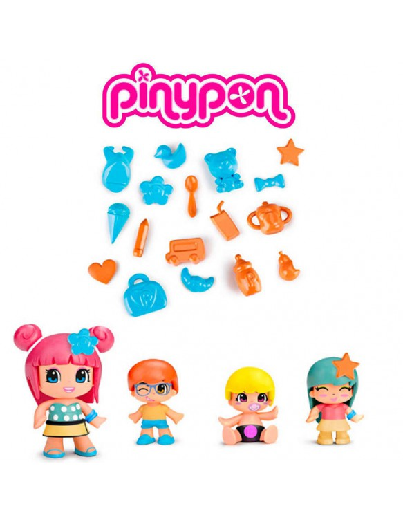 Pinypon Bebés Pack 4 Figuras 8410779049018