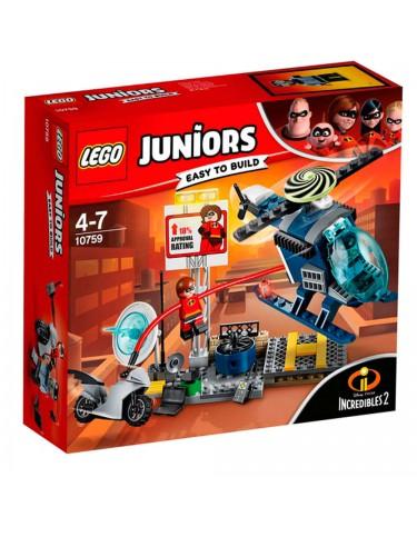 Lego 10759 Increibles Persecución Tejados Elastigir'l