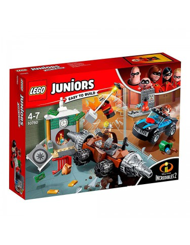 Lego 10760 Increibles Atraco al Banco Socavador 5702016117592