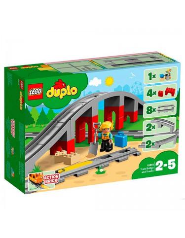 Lego 10872 Puente Y Vías Ferroviarias 5702016117240
