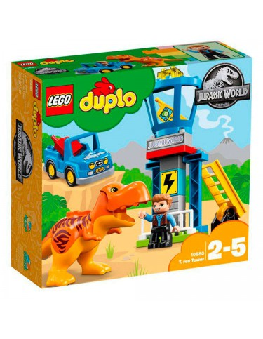 Lego 10880 Jurassic World Torre del T-Rex 5702016117233