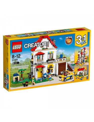 Lego 31069 Villa Familiar Modular 5702015867931