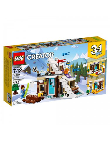 Lego 31080 Refugio De Invierno Modular 5702016111255
