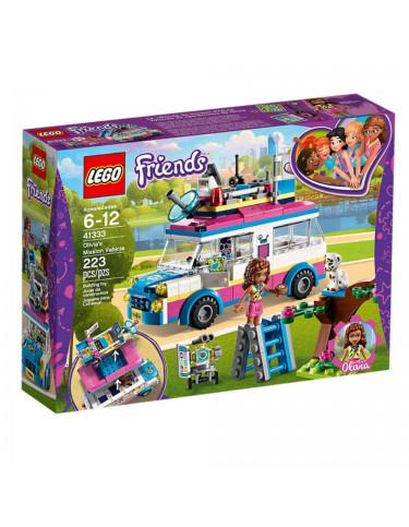 Lego 41333 Vehículo De Operaciones De Olivia 5702016111309
