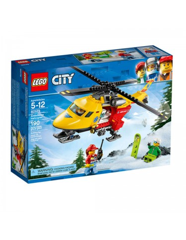 Lego 60179 Helicóptero-Ambulancia 5702016077483