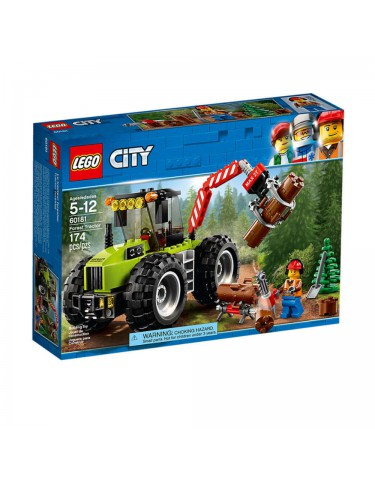 Lego 60181 Tractor Forestal 5702016077506